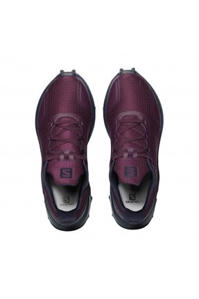 Salomon 408048 Alphacross W Potent Purple/navy Blazer/inda Ink Kadın Outdoor Ayakkabı