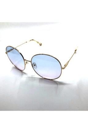 Chloé Ce 171s - 60 / Gold / Gradıent Azure Lılac