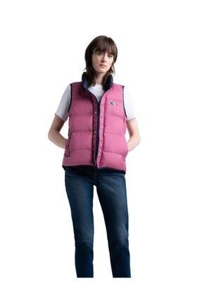 Herschel Kadın Pembe Herschel Featherless Reversible Vest Peacoat Mirage Yelek