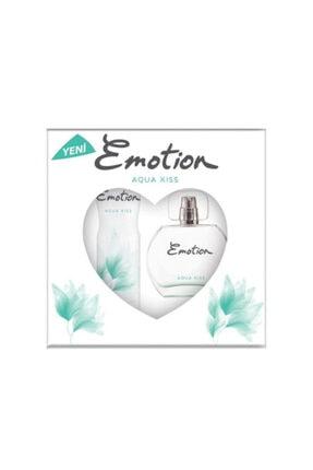 Emotion Aqua Kiss Edt Parfüm 50 Ml & Deodorant 150ml 1 Alana 1 Bedava