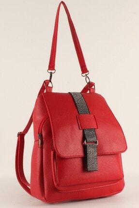 Luwwe Bag's Kadın Sırt Kırmızı ve El Çantası