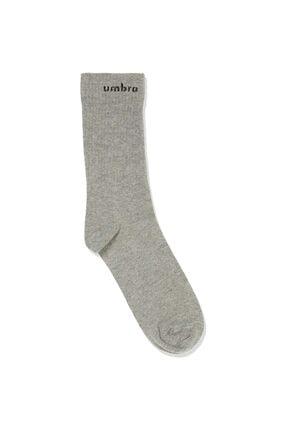Umbro Unisex Gri Havlu Çorap (tk0010-11)