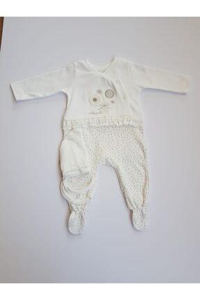 Caramel Organik Kız Bebek Tulumu