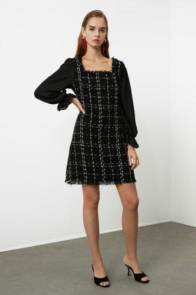 TrendyolMilla Siyah Tüvit Elbise TWOAW21EL0532