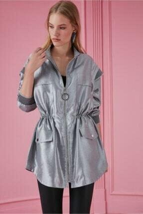 Nocturne Gümüş Ceket