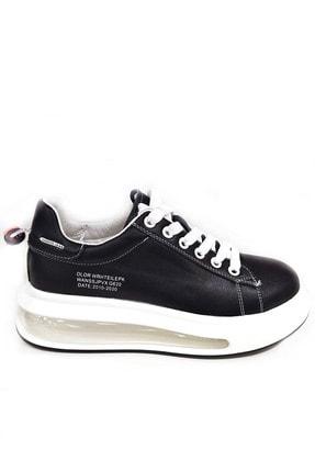 Guja Kadın Siyah Yüksek Taban Sneaker