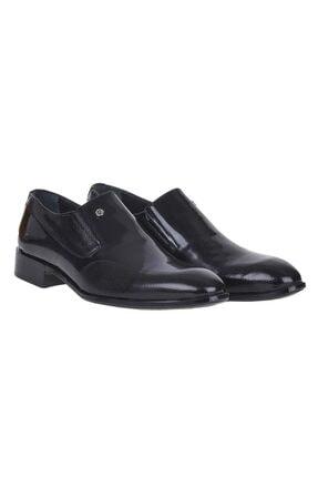 Pierre Cardin 00pc13 Siyah %100 Deri Erkek Rugan Klasik Ayakkabı