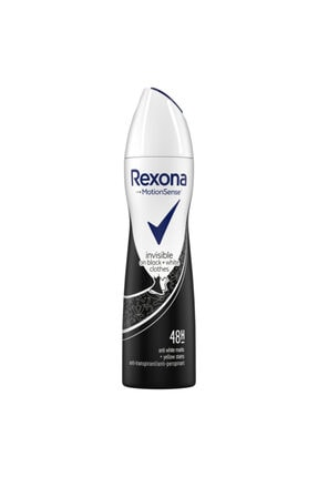 Rexona Kadın Invisible Black And White Deodorant