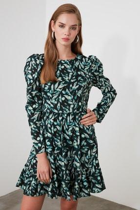 TrendyolMilla Çok Renkli Volanlı Elbise TWOAW21EL1361