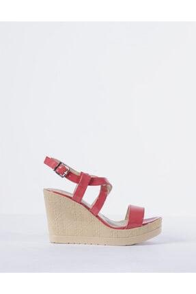 Vision Kadın Pembe Dolgu Topuklu Ayakkabı