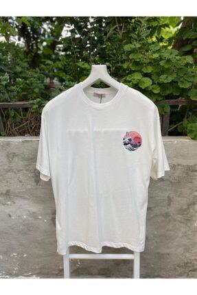 Unisex Beyaz T-Shirt R306