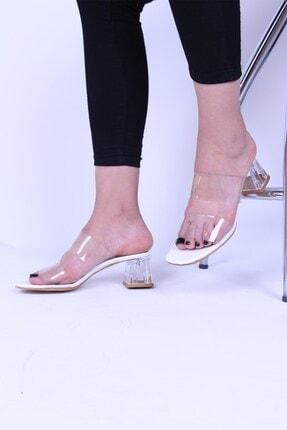 Derigo Kadın Beyaz Topuklu Ayakkabı 39823