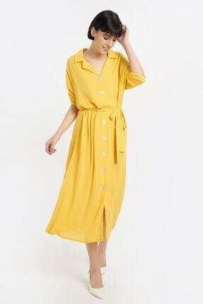Batik Kadın Sarı Elbise