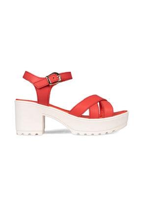 Greyder Kadın Kırmızı Klasik Topuklu Ayakkabı 0Y2TS30050