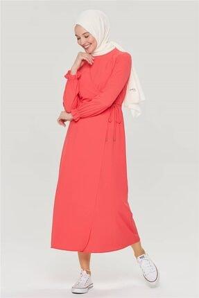 Armine Kadın Nar Çiçeği Elbise