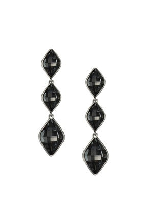Merano Design Kadın Gümüş Citrus Swarovski Kristalli Küpe