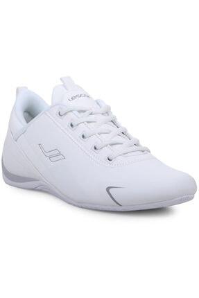 Lescon Unisex Beyaz Smash 2 Anatomik Taban Bağcıklı  Spor Ayakkabı