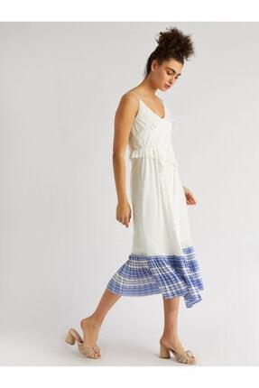 Vekem Askılı Asimetrik Kesim Elbise