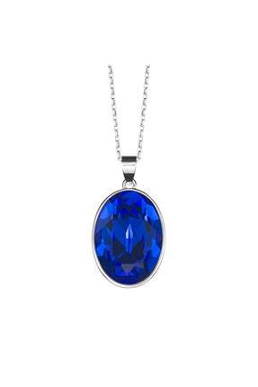 Merano Design Oval Swarovski Kristalli Kolye Ucu