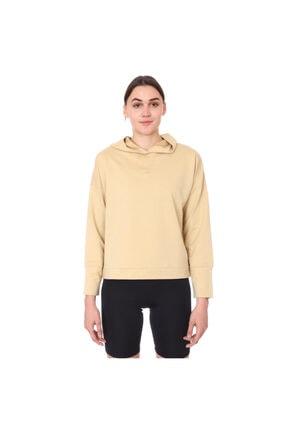 Sportive Kadın Bej Günlük Stil Sweatshirt 712106-bej