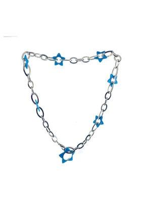 Merano Design Mavi Neon Kolye