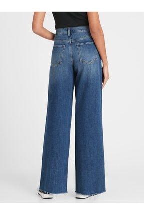 Banana Republic High-Rise Wide-Leg Jean Pantolon