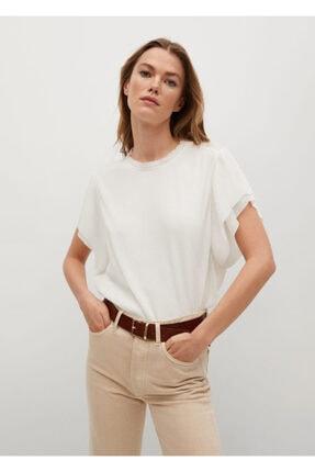 Mango Yarasa Kollu Tişört