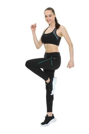 Umbro Kadın Tayt Büstiyer Takım+  Pilates Minderi 1.6mm Set  Vb-0002