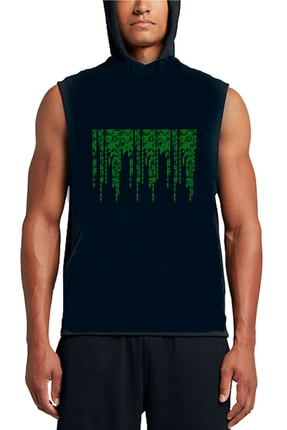 Art T-shirt Unisex Matrix Enigma Baskılı Hoodie Sweatshirt