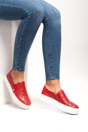 Ferre Milano Kadın Kırmızı Casual Ayakkabı