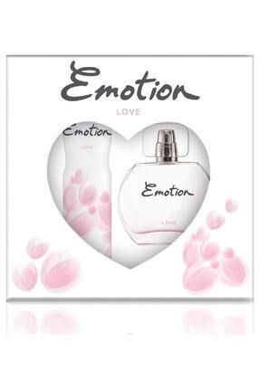 Emotion Love Edt 50 Ml + Deodorant Kadın 150 Ml - Parfüm Seti