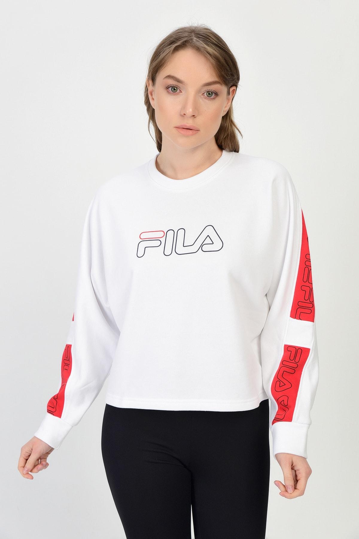 Fila Kadın Spor Sweatshirt - LAURA  - 683070_A138