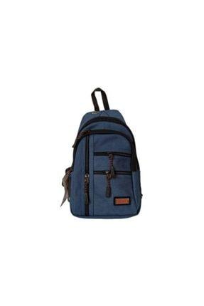 Seventeen Unisex Mavi  Sırt Ve Çapraz Body Bag
