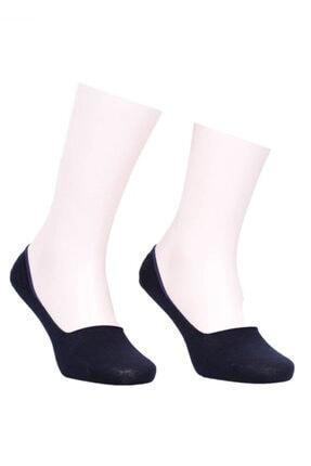 Jiber Unisex Lacivert Babet Çorap