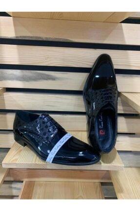 Pierre Cardin Erkek Siyah Rugan Neolit Hakiki Deri Ayakkabı P63008g