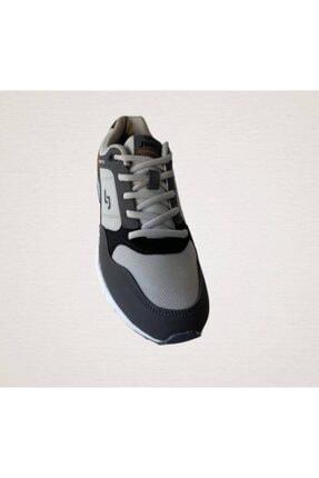 Jump Unisex Gri Spor Ayakkabı