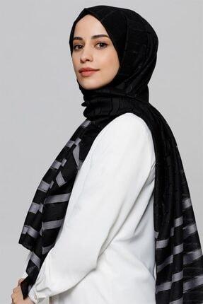 Armine Kadın  Antrasit Siyah Şal