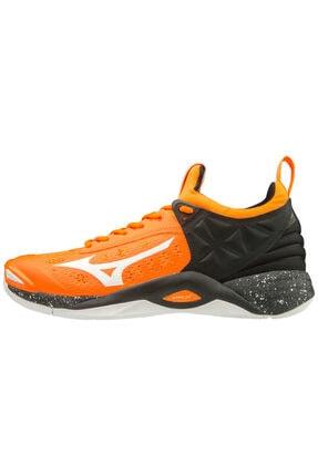 Mizuno Wave Momentum Unisex Voleybol Ayakkabısı Turuncu/siyah