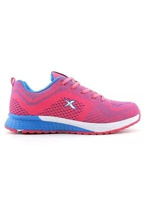 Kinetix Kadın Pembe Yüksek Taban Spor Ayakkabı