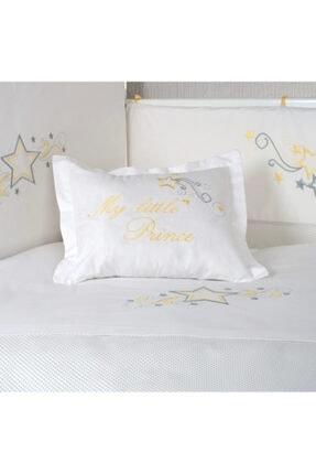 Sarı My Little Prince Puantiyeli Bebek Uyku Seti 60x120 cm PUSKYSAP60120