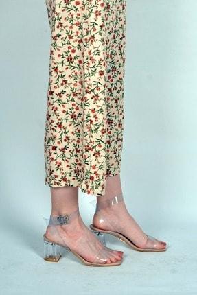 Kadın Ten Topuklu Ayakkabı MT304200