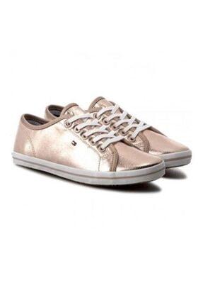 Kadın Pembe Altın Metallic Non Leather Sneaker FG0FG00054