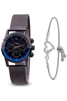 POLO Rucci Kadın Kol Saati Bileklik Hediyeli Pl362