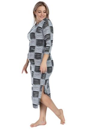 ANGELINO Kadın Gri Elbise As02