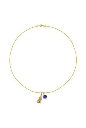 LUZDEMIA Virgo Rope Necklace
