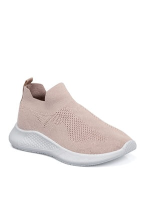 Tergan Pudra Tekstil Kadın Ayakkabı 65696o6k