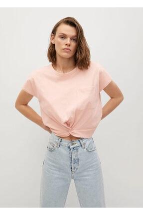 Mango Düğüm Detaylı Tişört