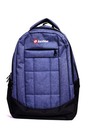 Lotto Unisex Mavi Sırt Çantası  Aboott Backpack R7838