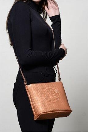Versace Kadın Bakır Çapraz Çanta 1975