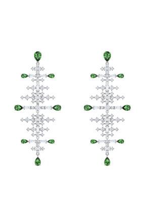 Swarovski Küpe Perfection:Pe Chndl Czgr/Rhs 5496837